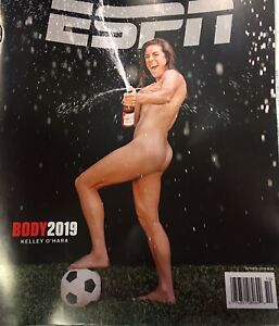 ESPN THE MAGAZINE-OCTOBER 2019-THE BODY ISSUE-KELLEY O'HARA-NEW-NO LABEL-FAST