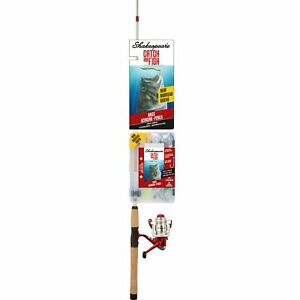 Shakespeare Catch More Fish Spinning Reel And Fishing Rod Combo