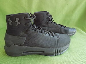 Under Armour Women's Black High-Top Basketball Shoes Size 8