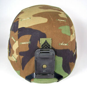 Helmet PASGT 8470-01-092-7527 Unicor Sgt 1st Class Woodland & Night Vision Mount