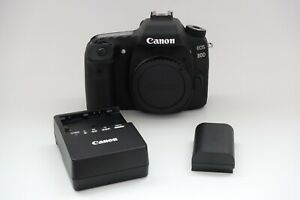 Used Condition Canon EOS 80D 24.2MP Digital SLR Camera - Black (Body Only)