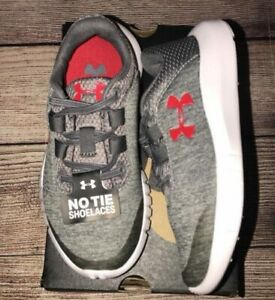 NEW Boys Under Armour Mojo Kids Running Trainers Size US 3 NWOB Tennis Shoes