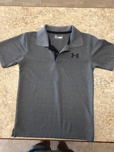 Under Armour Polo Shirt Youth Size 7