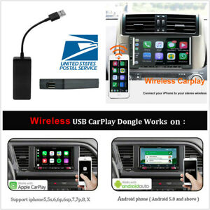 Carlinkit Wireless Smart Link USB Carplay Dongle For Android Stereo Nav Player