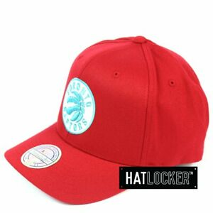 Mitchell & Ness - Toronto Raptors Red Teal High Crown Snapback