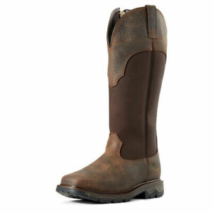 Ariat 10024942 Women's Earth Conquest Snakeboot Waterproof Cowgirl Hunting Boot