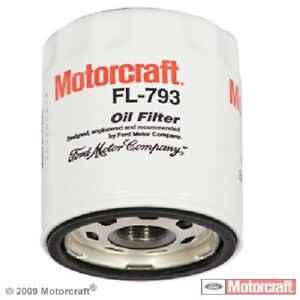 Engine Oil Filter-Turbo Front MOTORCRAFT FL-793