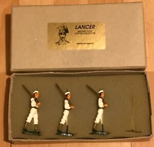 Vintage & Collectible Lancer Hand Painted Lead Soldier Sailors Made in England
