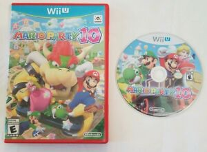 Mario Party 10 for Nintendo Wii U - W Electronic Manual + Case