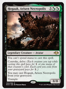 Magic the Gathering MTG Modern Horizons Hogaak, Arisen Necropolis 202/254 FOIL