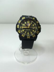 LUMINOX NAVY SEAL COLORMARK SERIES3050 3950 Analog Rubber #9F28 VERYGOOD Wristwa