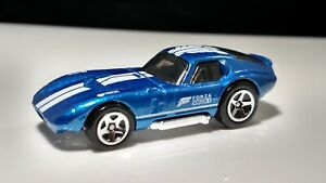 Hot Wheels Forza Shelby Cobra  Daytona Coupe Horizon 4 5sp Blue / White Stripes