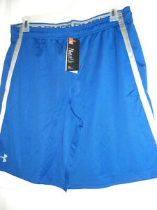 Under Armour Tech Mesh HeatGear Men's Shorts Blue XL, XXL, OR XXXL $21.99