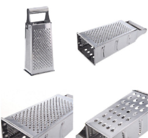 Stainless Steel 4 Sided Box Grater Silver Z9N4 $9.26