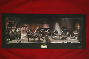 2019 STAR WARS CELEBRATION CHICAGO PALACE BREAK LIMITED EDITION LITHOGRAPH
