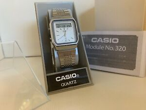 Casio AT-552 Module 320 Janus Sensor Touch Calculator Vintage Watch Collectible