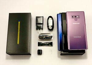 Samsung Galaxy Note 9 N960U 128GB AT&T VERIZONT-MOBILEMETRO FACTORY UNLOCKED