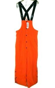 Cabelas World's Foremost Herter's Outfitter Men Size M Orange Long Work Romper