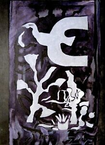 GEORGE BRAQUE HAND SIGNED SIGNATURE * CHAPELLE ST. BERNARD * LITHOGRAPH $999.99