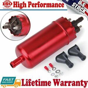 High Pressure Inline EFI Electric Fuel Pump Universal Replacement 0580463017