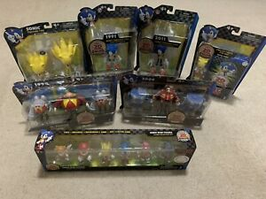 Sonic The Hedgehog 20th Anniversary Toy Lot. Brand New 7 Pieces. Toys R Us