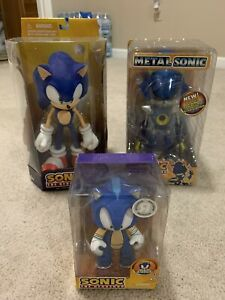 Sonic The Hedgehog Toy Lot. Brand New 7 Pieces. Toys R Us. Metal Sonic Poseable