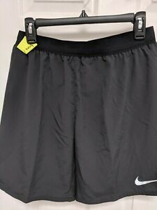 "NIKE MEN'S DRY FIT 7"" Distance RUNNING SHORTS 892911Black Medium NWT Ret $45"