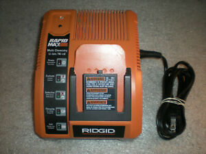 OEM Ridgid Battery Charger Rapid Max 9.6V 12V 14.4V 18V 140276010 R840091
