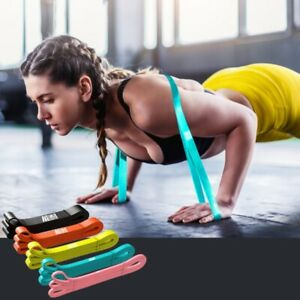 Elastic Workout Resistance Bands Loop Cross Fit Fitness Yoga Booty Exercise Band
