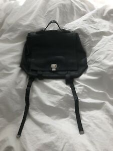 Proenza Schouler PS1 Black Leather Backpack