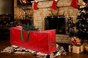 Christmas Tree Papers Wrapping Decorations Storage Bags Xmas Festive Organiser