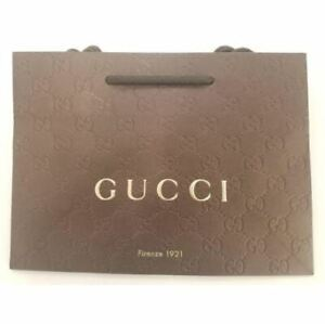 GUCCI Gift Paper Bag Size: 9X6 1 2X3 3 4 $9.95