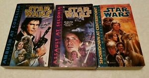 Star Wars Book Lot All The Corellian Trilogy Set of 1 3 PB Roger Allen Complete