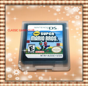 New Super Mario Bros. (Nintendo DS 2006) Game Only for DS  DSi  3DS XL  2DS