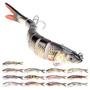 Multi Jointed Fishing Lures Sinking Wobblers Swimbait Crankbait Hard Bait Lure