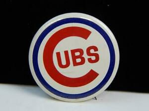Vintage 1960s MLB Chicago Cubs Baseball Button Pin $14.99
