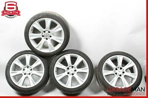 06-11 Mercedes W219 CLS500 CLS550 Complete Wheel Tire Rim Set of 4 Pc R18 OEM