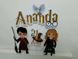 Personalized Harry Potter Cake Topper Party Favors