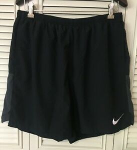 Nike Dri Fit Running Shorts Size XXL Black And Gray