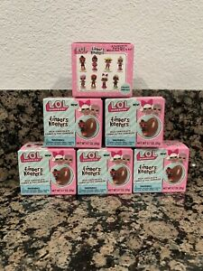 LOL Surprise Finders Keepers Chocolate Egg Candy with Doll Mystery Toy Pack of 6