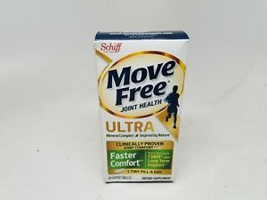 Schiff Joint Support Move Free Ultra 2 in 1 w/ 30 Tablets BOX DAMAGED. 3/2020