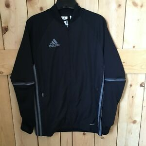 adidas Condivo 16 Jacket Black Grey Size Extra Large New with Tags $28.00
