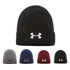 Men's Under Armour Hat Truckstop Beanie One Size Fits All With UA Logo Winter