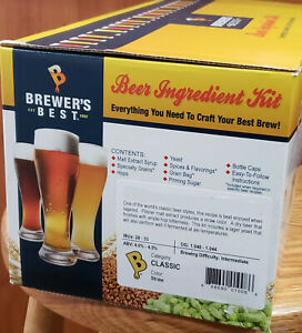 Brewers Best Kit Beer Kit Extract Kit Beer Brewing kit Home brewHome brewin