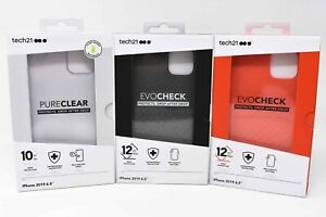 Tech21 Evo Check & Pure Clear Case for Apple iPhone 11 Pro Max 6.5