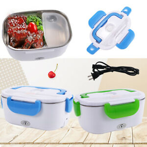 New Portable Electric Heating bento Heater Stainless Steel lunch Container 40W