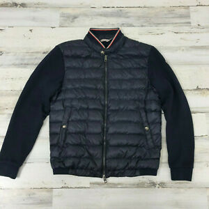 AUTHENTIC MONCLER Ryan Men's Puffer Jacket Navy Blue S