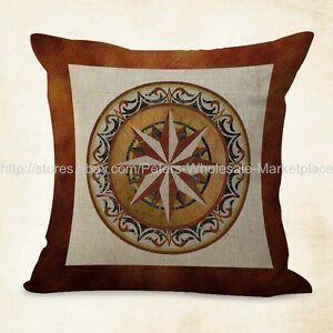 medallion mandala yoga meditation cushion cover cheap house decor