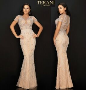 TERANI COUTURE 2012GL2376 authentic dress. 2020 COLLECTION ! MANY SIZES !