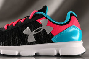 UNDER ARMOUR Micro G Speed Swift shoes for girls NEW & AUTHENTIC, US YOUTH 1.5 $44.99